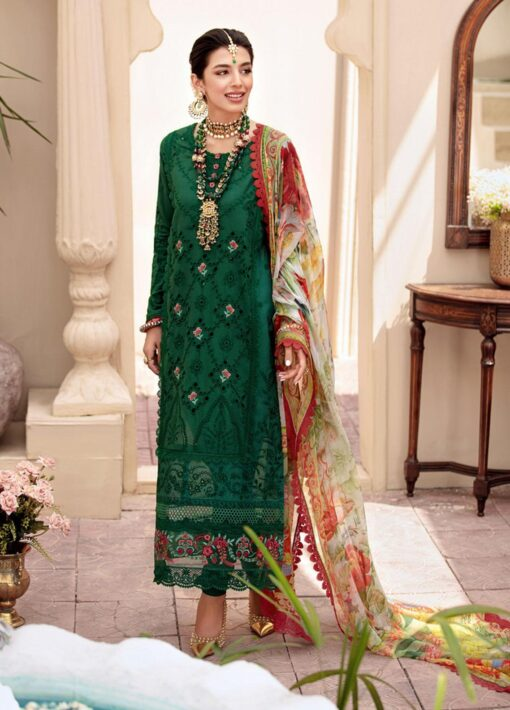 Noor by Sadia Asad Embroidered Lawn Unstitched 3 Piece Suit 2021 11 – Summer Collection