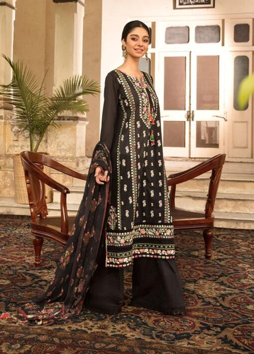 Vital by Sobia Nazir Embroidered Lawn Unstitched 3 Piece Suit 2021 02 A – Summer Collection