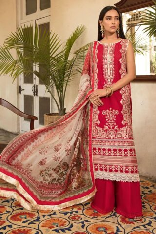 Vital by Sobia Nazir Embroidered Lawn Unstitched 3 Piece Suit 2021 04 B – Summer Collection