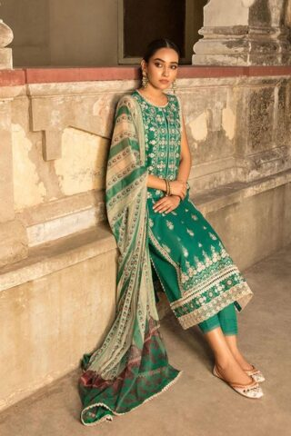 Vital by Sobia Nazir Embroidered Lawn Unstitched 3 Piece Suit 2021 05 B – Summer Collection