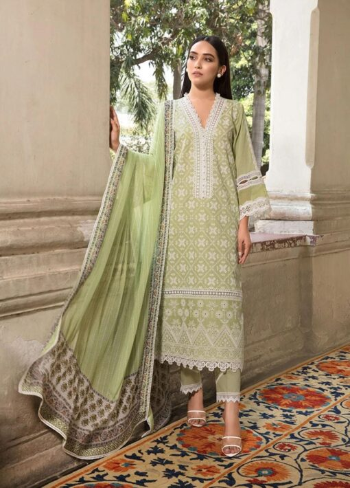 Vital by Sobia Nazir Embroidered Lawn Unstitched 3 Piece Suit 2021 08 A – Summer Collection