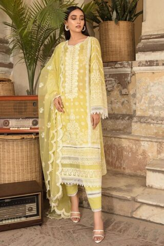 Vital by Sobia Nazir Embroidered Lawn Unstitched 3 Piece Suit 2021 09 A – Summer Collection