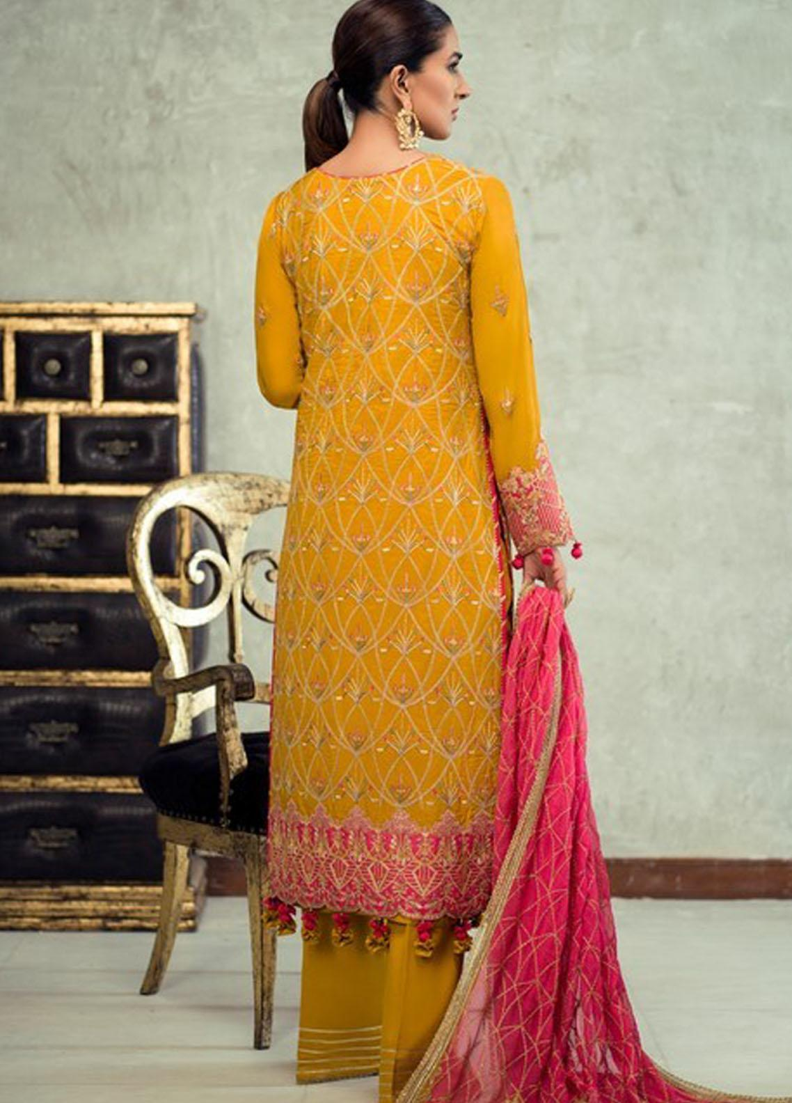 Asim Jofa Embroidered Raw Silk Suit Unstitched 3 Piece 2021 19 – Festive Collection