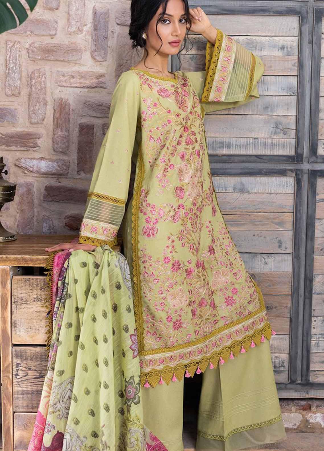 Sobia Nazir Embroidered Silk Karandi Suit Unstitched 3 Piece 02B – Autumn/Winter Collection