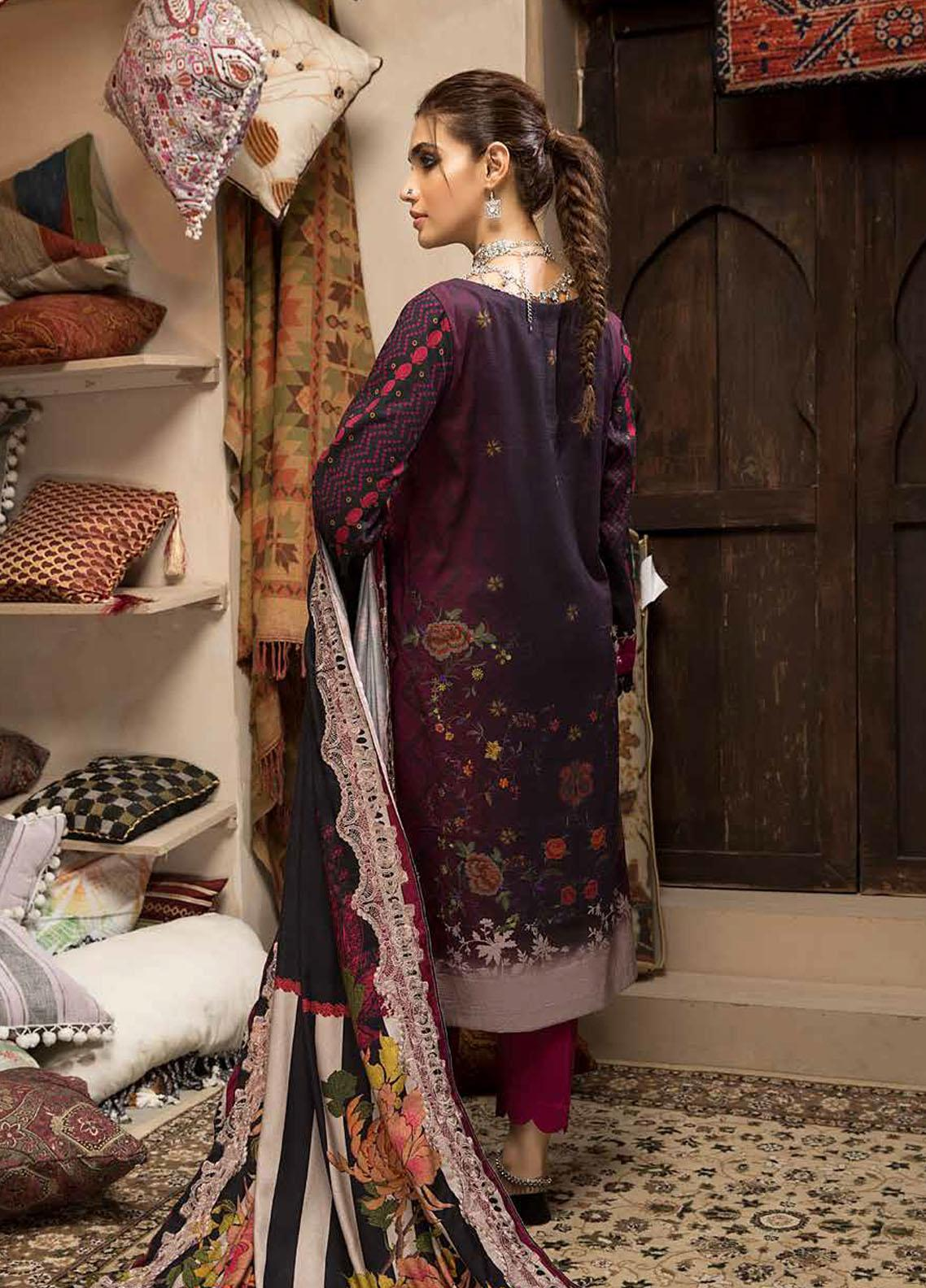 Charizma Embroidered Khaddar Suit Unstitched 3 Piece 09 – Winter Collection