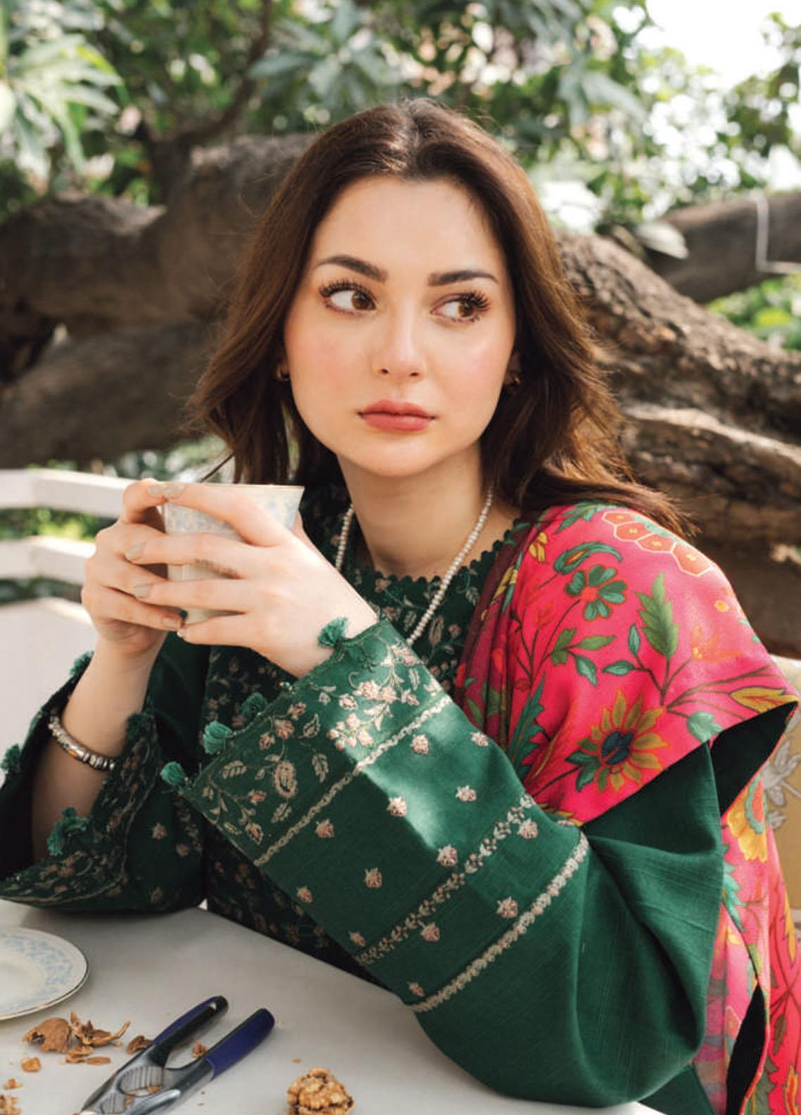 Coco by Zara Shahjahan Embroidered Khaddar Suit Unstitched 3 Piece 08 A – Winter Collection