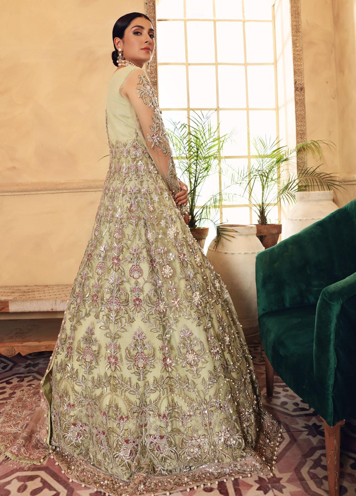 Elaf Embroidered Net Suit Unstitched 3 Piece Gimblet 01 – Luxury Bridal Collection