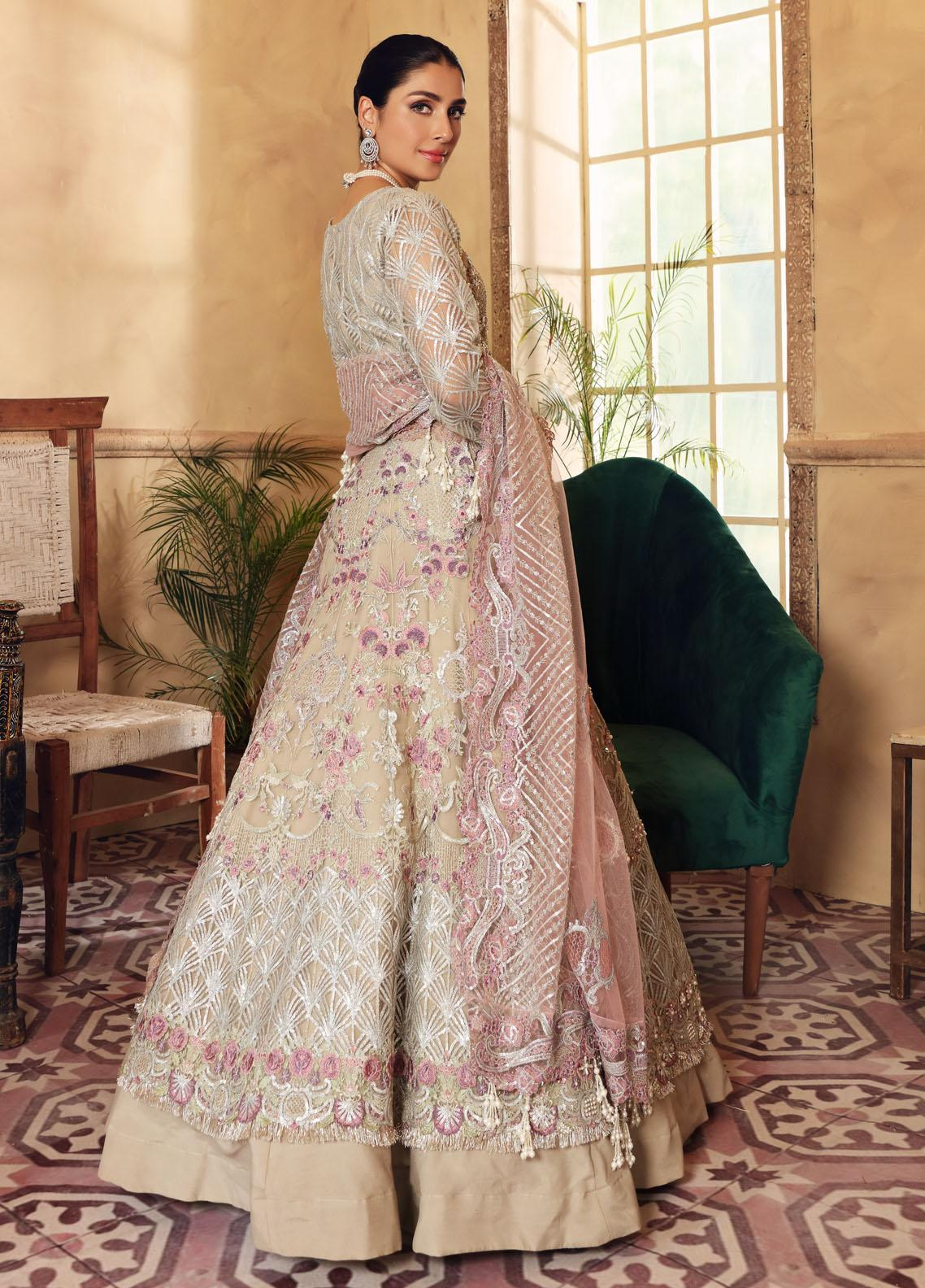 Elaf Embroidered Net Suit Unstitched 3 Piece Jewel 04 – Luxury Bridal Collection